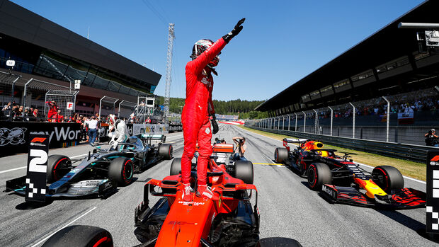 Charles Leclerc - Ferrari - Formel 1 - GP Österreich - Spielberg - 29. Juni 2019