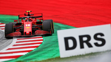 Charles Leclerc - Ferrari - Formel 1 - GP Österreich - Spielberg - 3. Juli 2020
