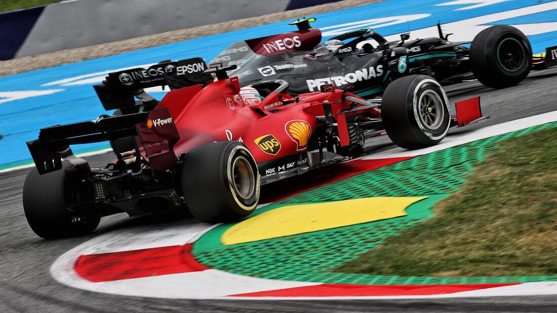 Charles Leclerc - Ferrari - Formel 1 - GP Österreich - Spielberg - Freitag - 2.7.2021