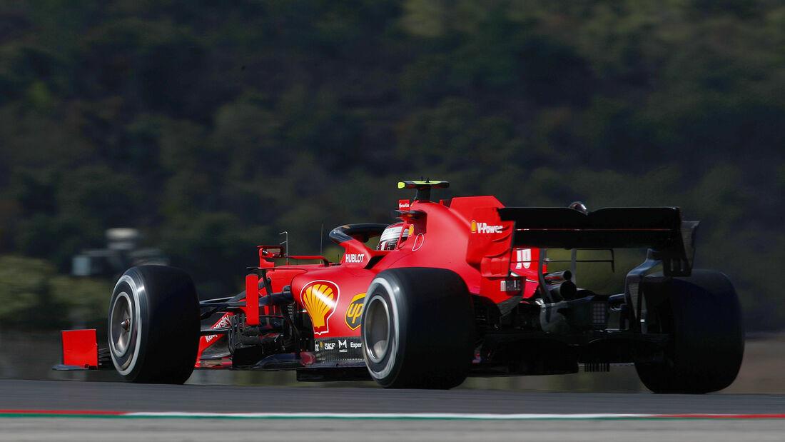 Charles Leclerc - Ferrari - Formel 1 - GP Portugal - Portimao - 23. Oktober 2020