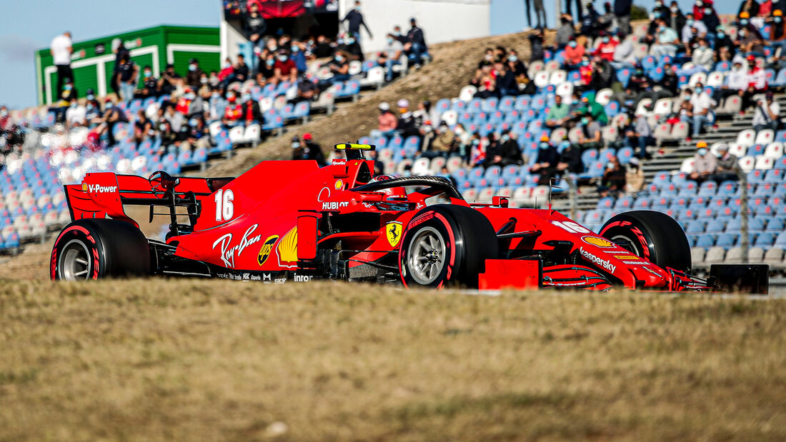 Charles Leclerc - Ferrari - Formel 1 - GP Portugal - Portimao - 24. Oktober 2020