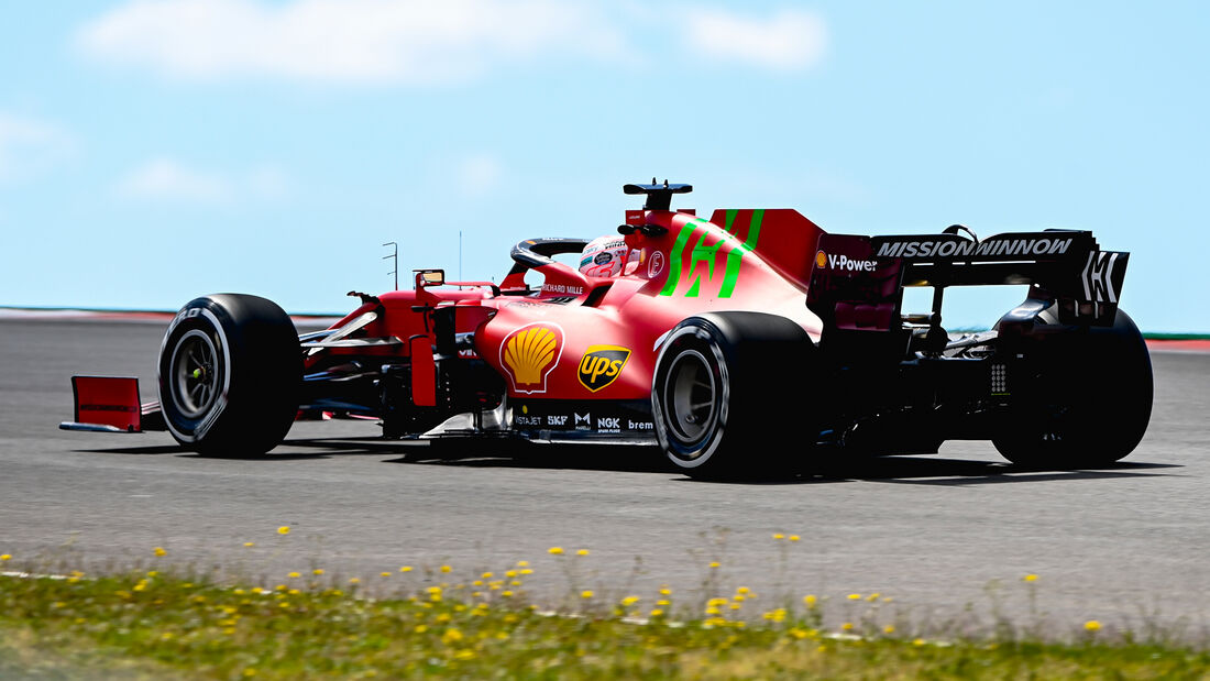 Charles Leclerc - Ferrari - Formel 1 - GP Portugal - Portimao - 30. April 2021