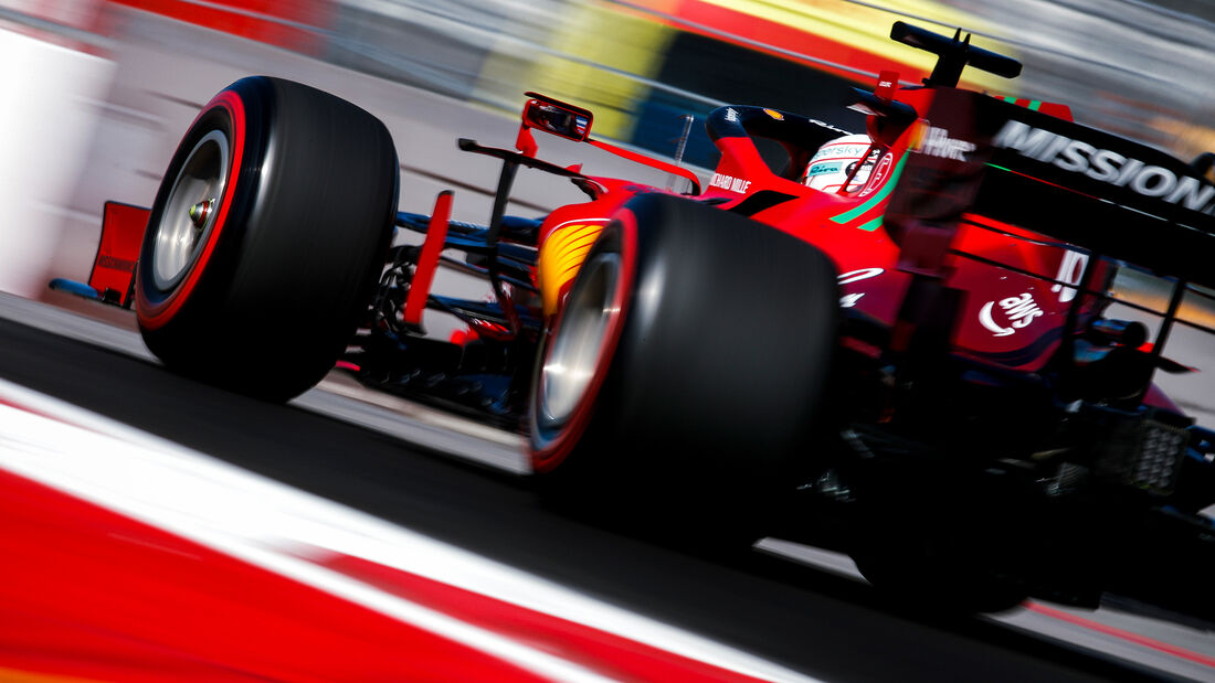 Charles Leclerc - Ferrari - Formel 1 - GP Russland - Sotschi - 24. September 2021