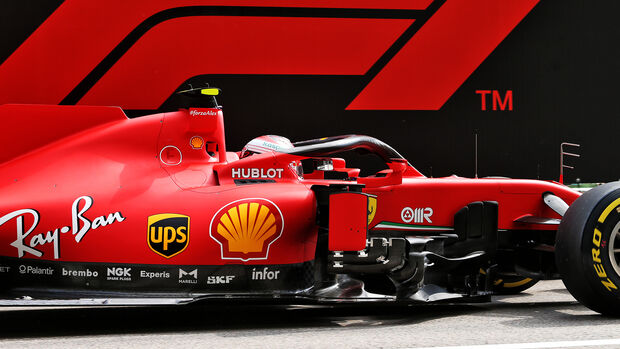 Charles Leclerc - Ferrari - Formel 1 - GP Russland - Sotschi - 26. September 2020