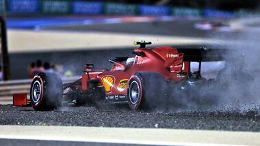 Charles Leclerc - Ferrari - Formel 1 - GP Sakhir - Bahrain - Freitag - 4.12.2020