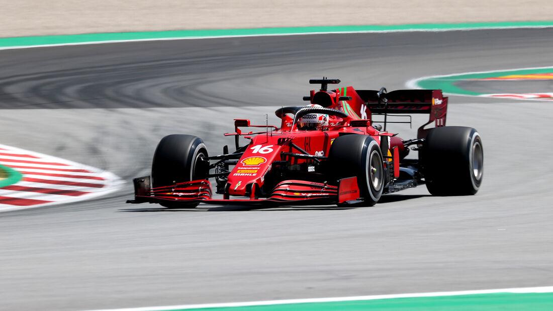 Charles Leclerc - Ferrari - Formel 1 - GP Spanien - 7. Mai 2020