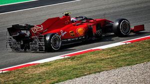 Charles Leclerc - Ferrari - Formel 1 - GP Spanien - Barcelona - 14. August 2020