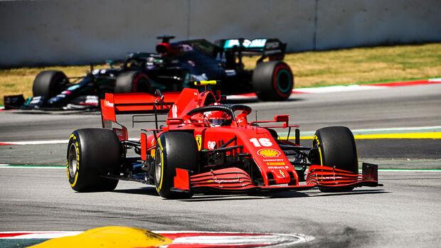 Charles Leclerc - Ferrari - Formel 1 - GP Spanien - Barcelona - Qualifying - Samstag - 15. August 2020