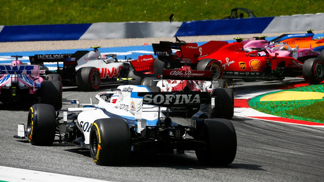 Charles Leclerc - Ferrari - Formel 1 - GP Steiermark 2020 - Spielberg - Rennen