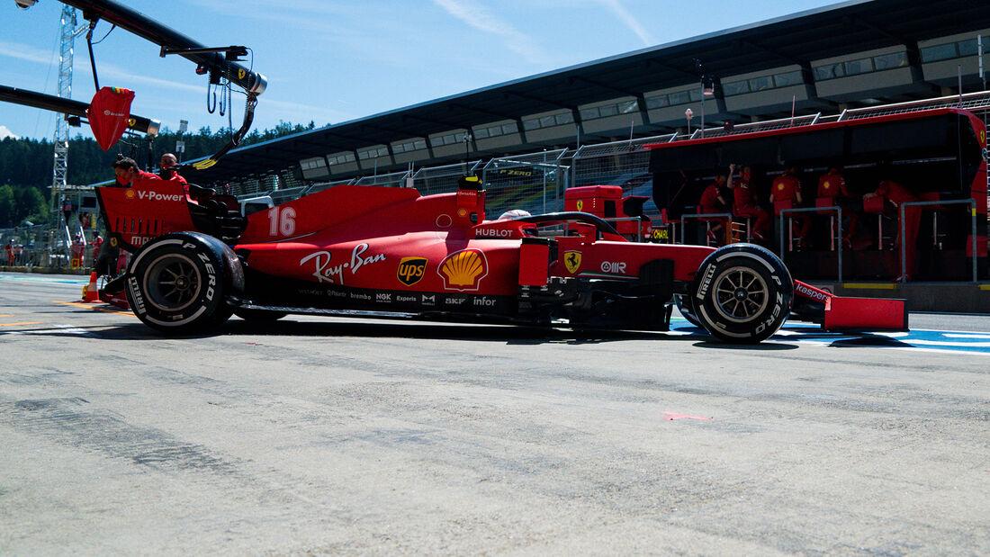 Charles Leclerc - Ferrari - Formel 1 - GP Steiermark - Österreich - Spielberg - 10. Juli 2020