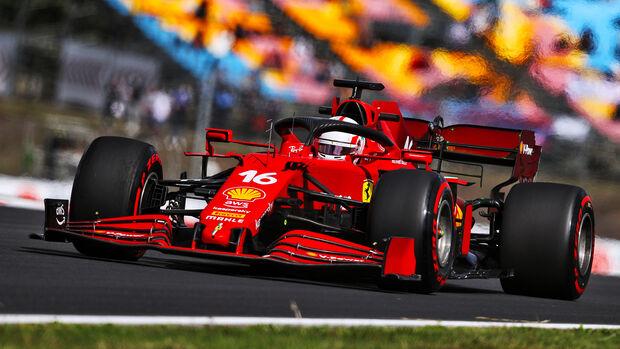 Charles Leclerc - Ferrari - Formel 1 - GP Türkei - Istanbul - 8. Oktober 2021
