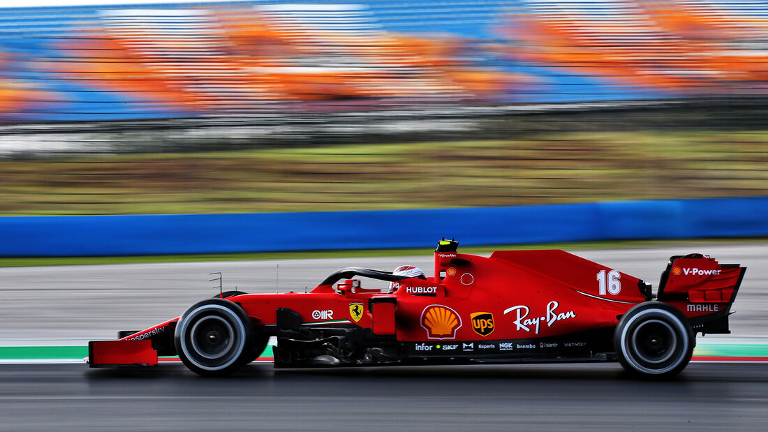 Charles Leclerc - Ferrari - Formel 1 - GP Türkei - Istanbul - Freitag - 13.11.2020