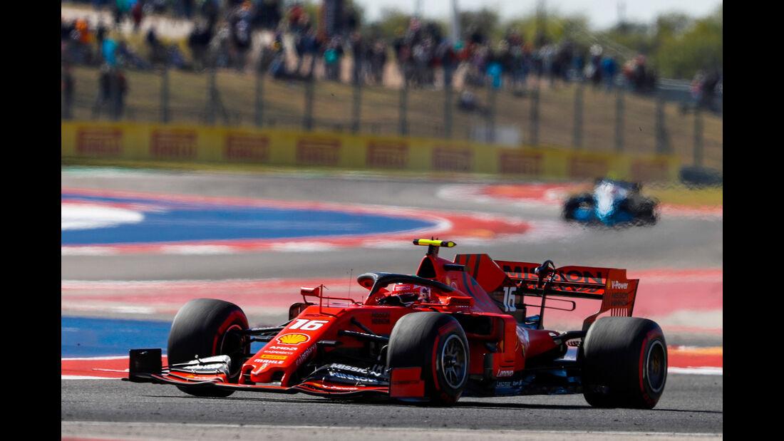 Charles Leclerc - Ferrari - Formel 1 - GP USA - Austin - 1. November 2019