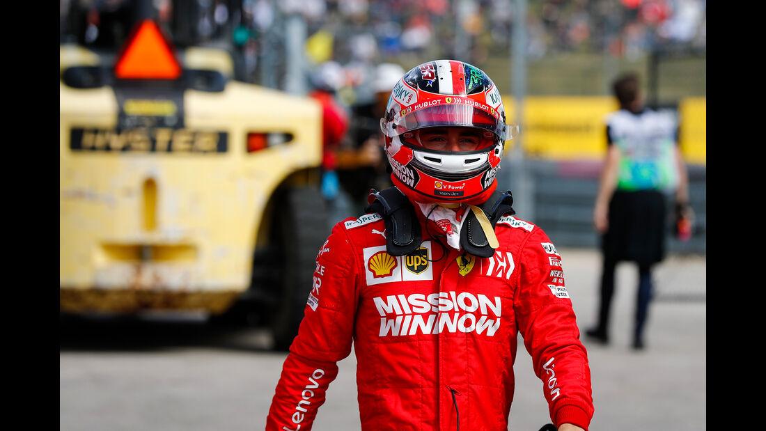 Charles Leclerc  - Ferrari  - Formel 1 - GP USA - Austin - 2. November 2019
