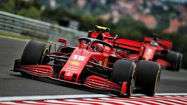 Charles Leclerc - Ferrari - Formel 1 - GP Ungarn - Budapest - 17. Juli 2020