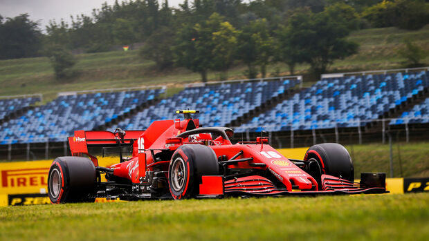 Charles Leclerc - Ferrari - Formel 1 - GP Ungarn - Budapest - 18. Juli 2020