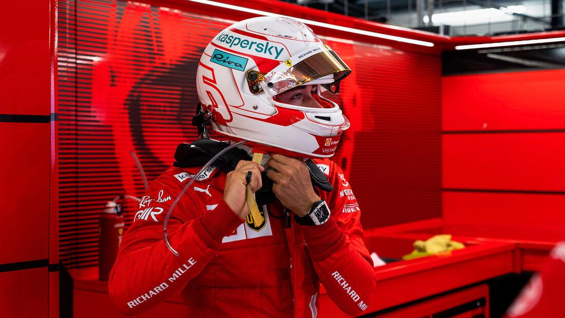 Charles Leclerc - Ferrari - Formel 1 - GP Ungarn - Budapest - Freitag - 30. Juli 2021