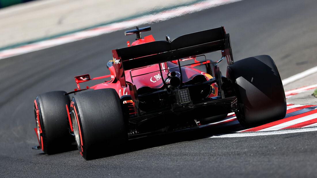 Charles Leclerc - Ferrari - Formel 1 - GP Ungarn - Budapest - Samstag - 31. Juli 2021