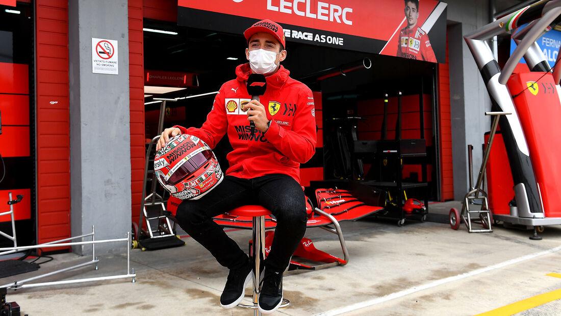 Charles Leclerc - Ferrari - Formel 1 - Imola - GP Emilia-Romagna - 15. April 2021