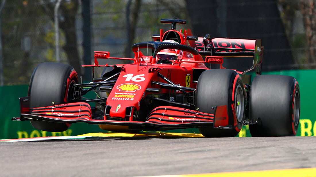 Charles Leclerc - Ferrari - Formel 1 - Imola - GP Emilia-Romagna - 16. April 2021