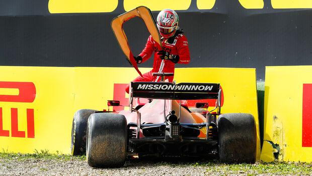 Charles Leclerc - Ferrari - Formel 1 - Imola - GP Emilia Romagna - 16. April 2021