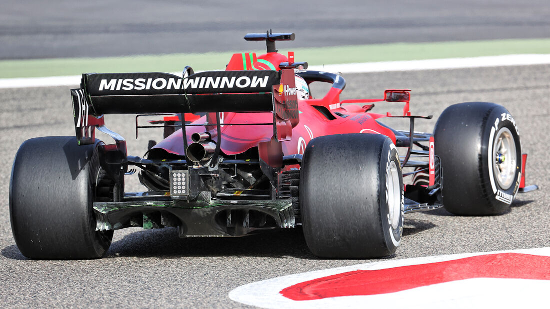 Charles Leclerc - Ferrari - Formel 1 - Test - Bahrain - 13. März 2021