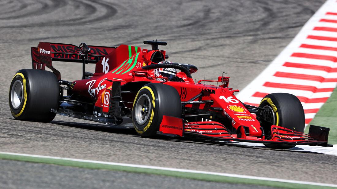 Charles Leclerc - Ferrari - Formel 1 - Test - Bahrain - 14. März 2021
