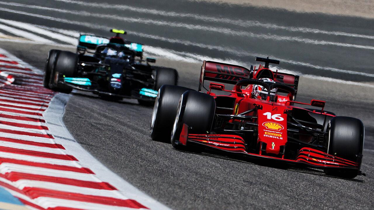 Bahrain-Test 2021: Wie gut ist Ferrari? | AUTO MOTOR UND SPORT