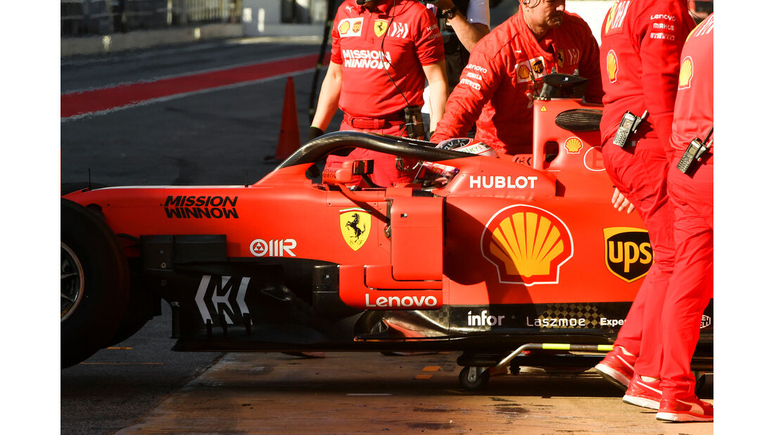 Charles Leclerc - Ferrari - Formel 1 - Test - Barcelona - 15. Mai 2019