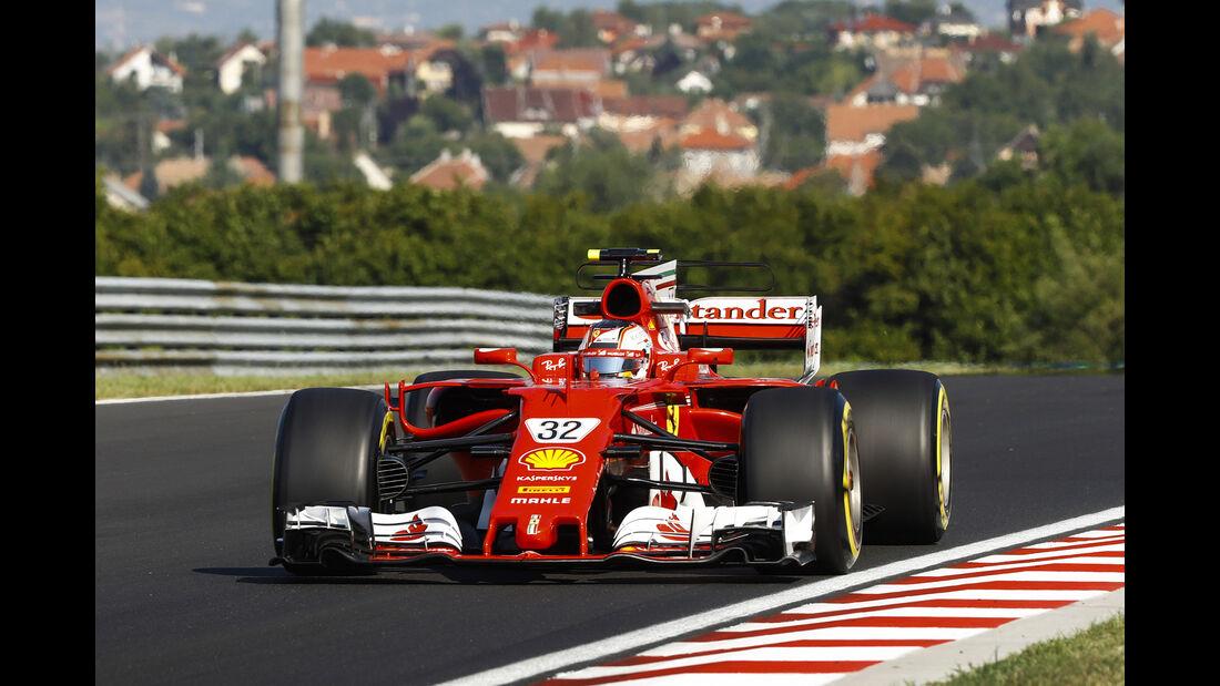 Charles Leclerc - Ferrari - Formel 1 - Test - Ungarn - Budapest - 1. August 2017