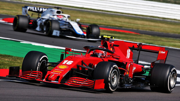Charles Leclerc - Ferrari - GP 70 Jahre F1 - Silverstone