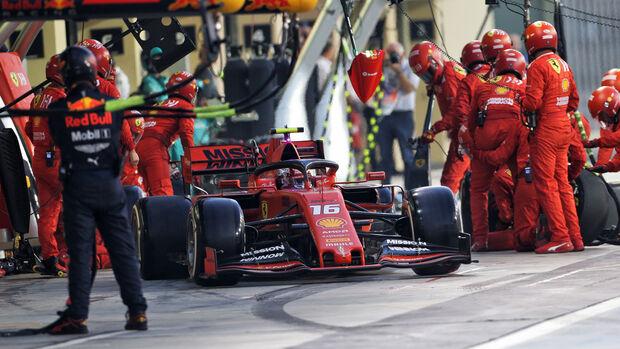 Charles Leclerc - Ferrari - GP Abu Dhabi 2019