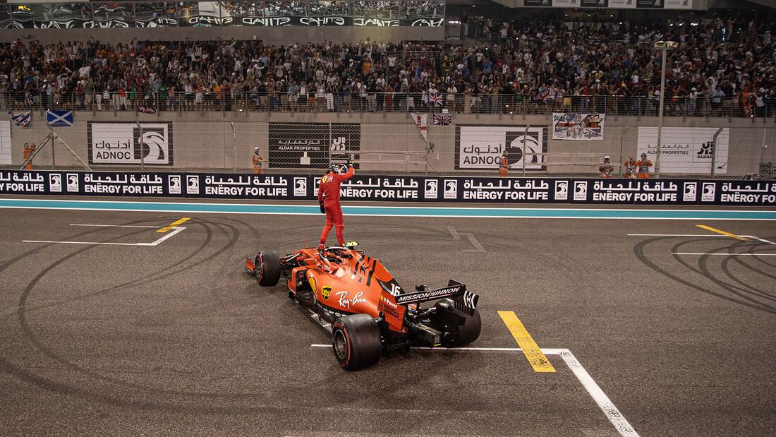 Charles Leclerc - Ferrari - GP Abu Dhabi 2019 - Rennen