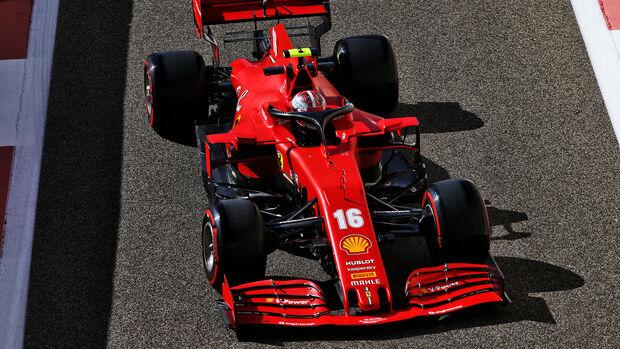 Charles Leclerc - Ferrari - GP Abu Dhabi 2020