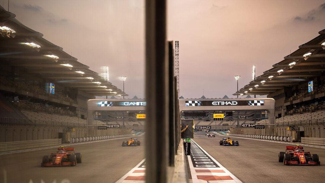 Charles Leclerc - Ferrari - GP Abu Dhabi 2020 - Rennen