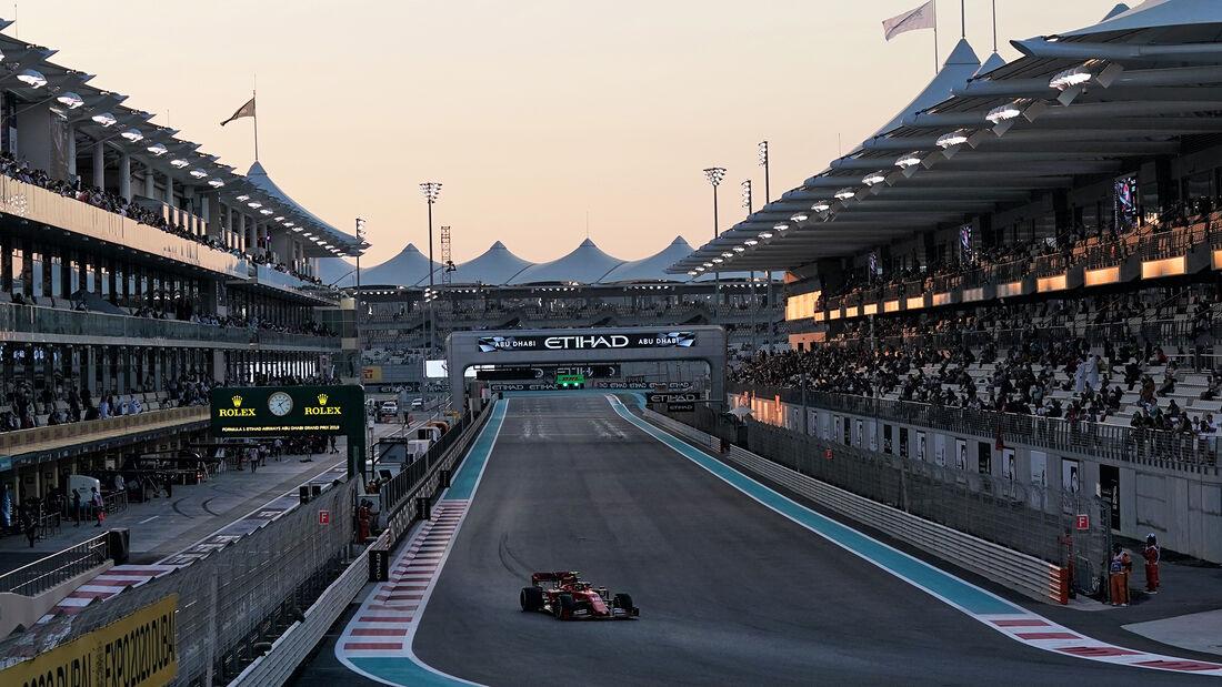 Charles Leclerc - Ferrari - GP Abu Dhabi - Formel 1 - Freitag - 29.11.2019