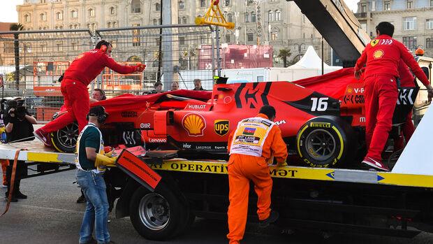 Charles Leclerc - Ferrari - GP Aserbaidschan 2019