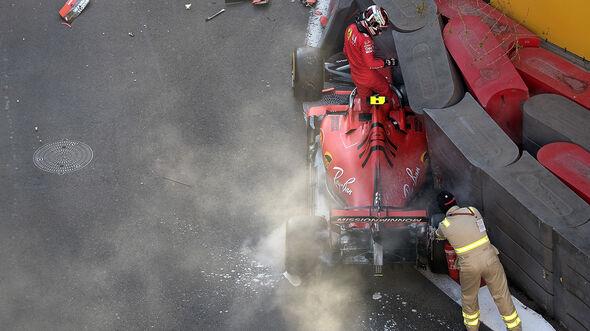 Charles Leclerc - Ferrari - GP Aserbaidschan 2019 - Baku - Quali