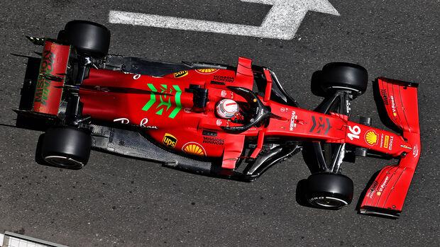 Charles Leclerc - Ferrari - GP Aserbaidschan 2021 - Baku