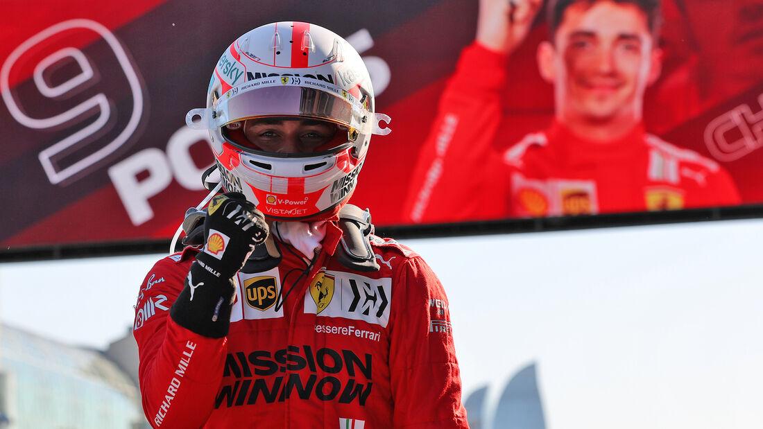 Charles Leclerc - Ferrari - GP Aserbaidschan 2021 - Baku - Qualifikation