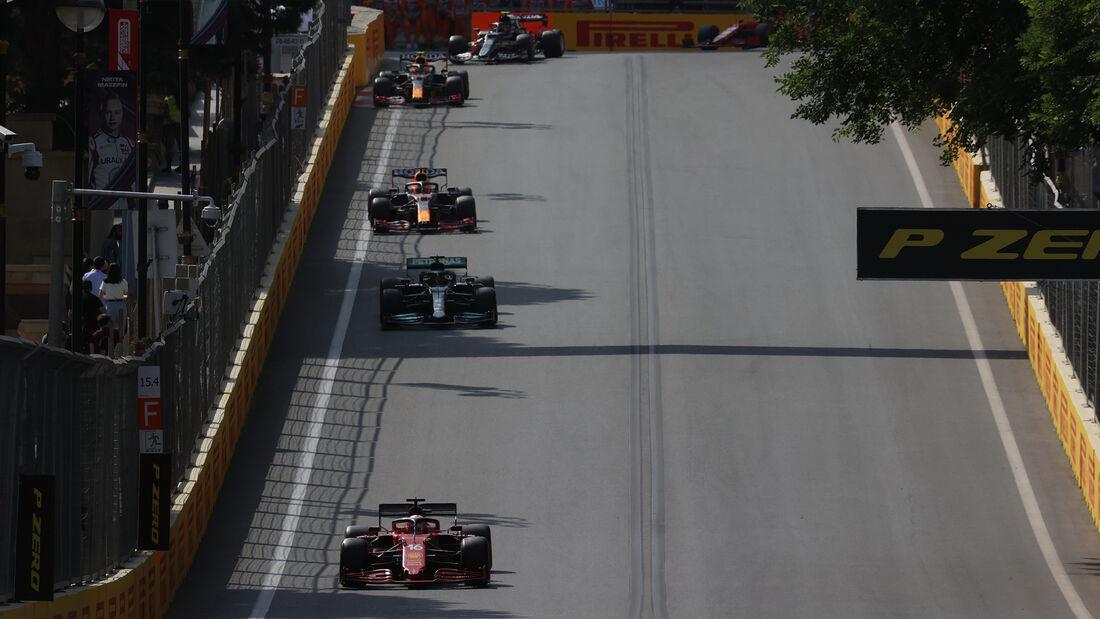 Charles Leclerc - Ferrari - GP Aserbaidschan 2021 - Baku - Rennen