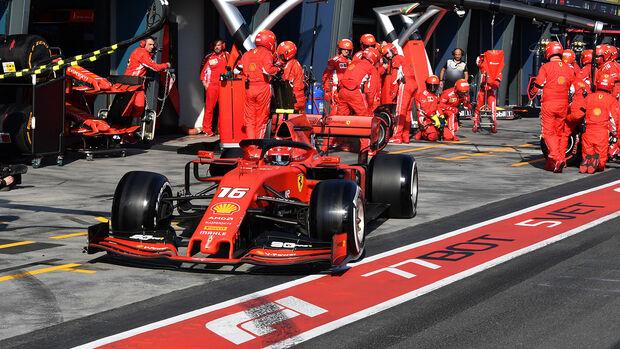 Charles Leclerc - Ferrari - GP Australien 2019