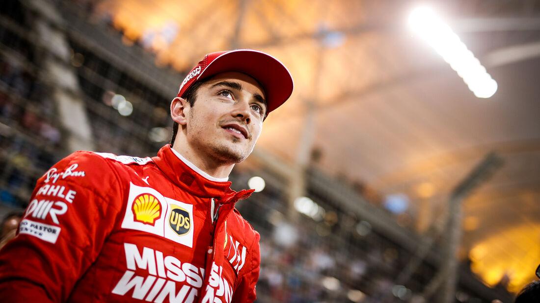 Charles Leclerc - Ferrari - GP Bahrain 2019