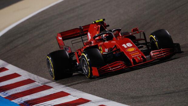 Charles Leclerc - Ferrari - GP Bahrain 2020 - Sakhir