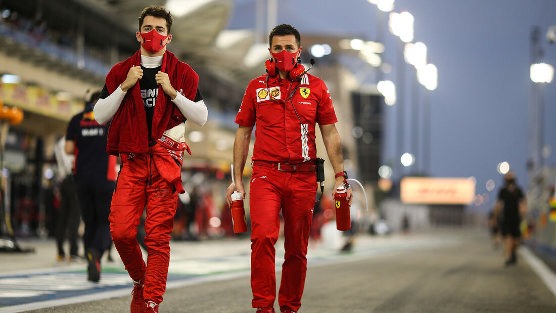 Charles Leclerc - Ferrari - GP Bahrain 2020 - Sakhir - Rennen