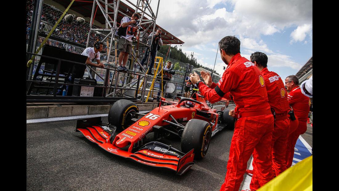 Charles Leclerc - Ferrari - GP Belgien 2019 - Spa-Francorchamps