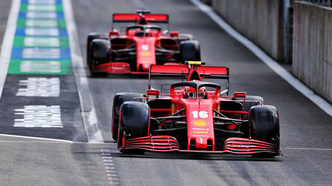 Charles Leclerc - Ferrari - GP Belgien - Spa-Francorchamps - 29. August 2020