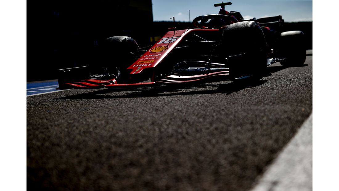 Charles Leclerc - Ferrari - GP Belgien - Spa-Francorchamps - Formel 1 - Freitag - 30.8.2019