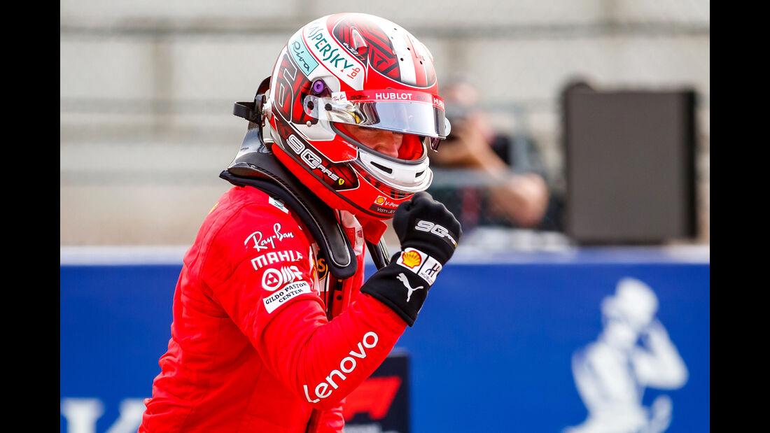 Charles Leclerc - Ferrari - GP Belgien - Spa-Francorchamps - Formel 1 - Samstag - 31.8.2019