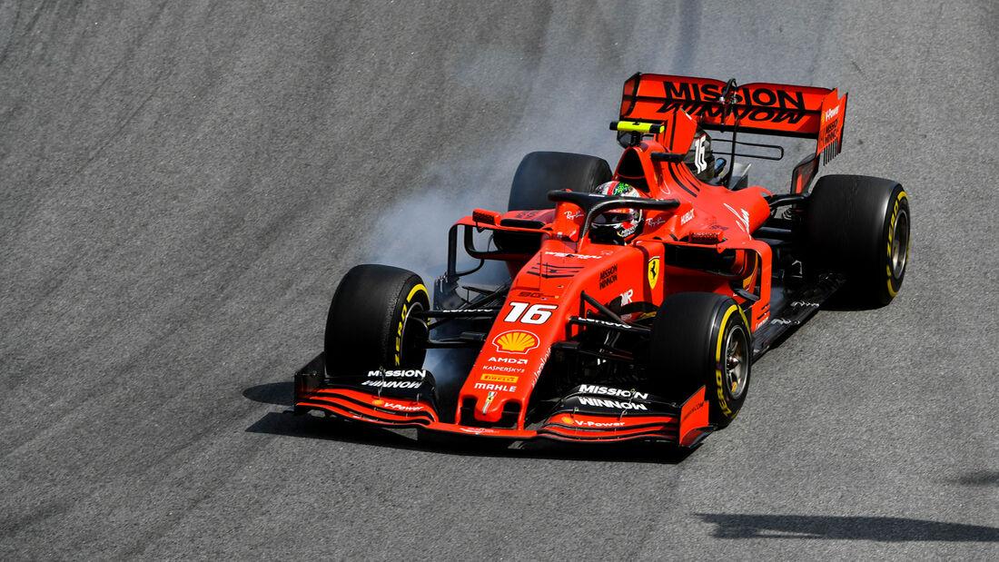 Charles Leclerc - Ferrari - GP Brasilien 2019